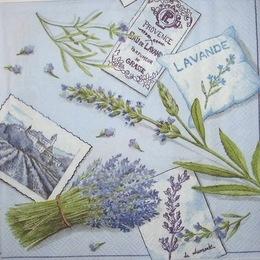 1181. Лаванда и открытки