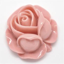 hm-1144. Декор Роза, коралловая. 10 шт., 15 руб/шт
