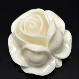 hm-1145. Декор Роза, кремовая. 10 шт., 15 руб/шт