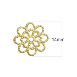hm-1529. Декоративный элемент Цветок, 10 шт, 8 руб/шт
