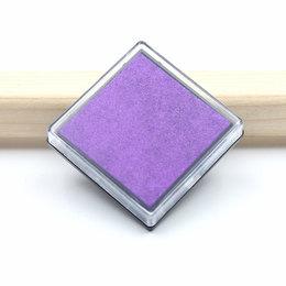 hm-1660. Подушечка штемпельная, фиолетовый