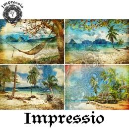 13026. Декупажная карта  Impressio, плотность 45 г/м2