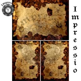 13030. Декупажная карта  Impressio, плотность 45 г/м2
