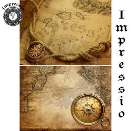 13041. Декупажная карта  Impressio, плотность 45 г/м2