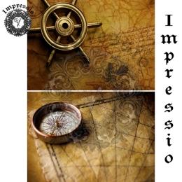 13043. Декупажная карта  Impressio, плотность 45 г/м2