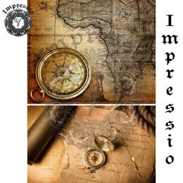 13044. Декупажная карта  Impressio, плотность 45 г/м2