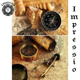 13047. Декупажная карта  Impressio, плотность 45 г/м2