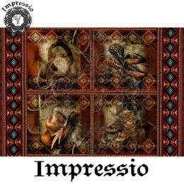 13140. Декупажная карта  Impressio, плотность 45 г/м2
