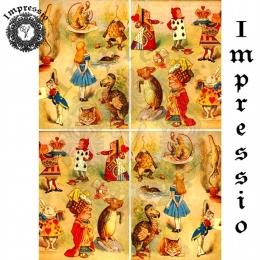 13307. Декупажная карта  Impressio, плотность 45 г/м2