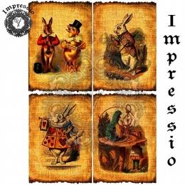 13308. Декупажная карта  Impressio, плотность 45 г/м2