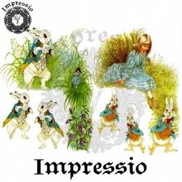 13310. Декупажная карта  Impressio, плотность 45 г/м2