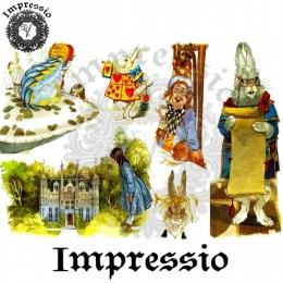 13312. Декупажная карта  Impressio, плотность 45 г/м2