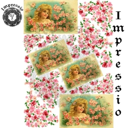 13438. Декупажная карта  Impressio, плотность 45 г/м2