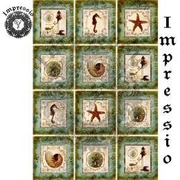 13451. Декупажная карта  Impressio, плотность 45 г/м2