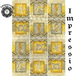 13453. Декупажная карта  Impressio, плотность 45 г/м2