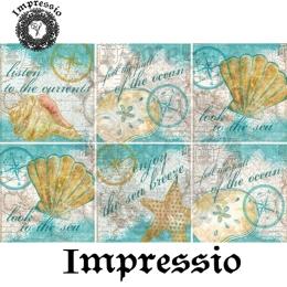 13457. Декупажная карта  Impressio, плотность 45 г/м2