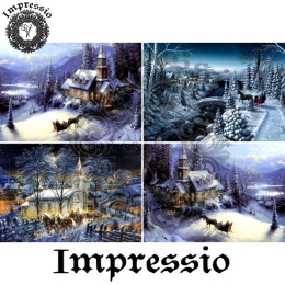13589. Декупажная карта  Impressio, плотность 45 г/м2