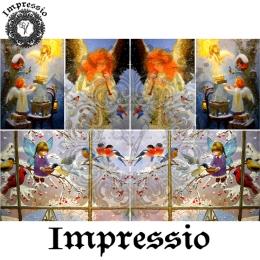 13633. Декупажная карта  Impressio, плотность 45 г/м2