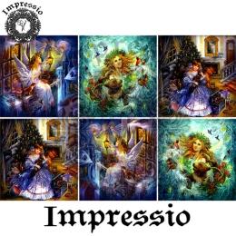 13634. Декупажная карта  Impressio, плотность 45 г/м2