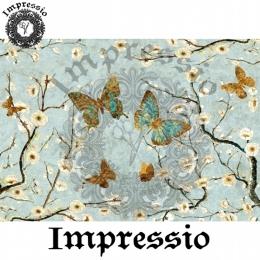 13676. Декупажная карта  Impressio, плотность 45 г/м2