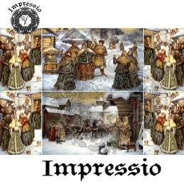 13686. Декупажная карта  Impressio, плотность 45 г/м2