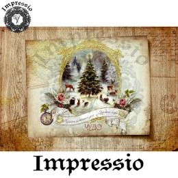 13705. Декупажная карта  Impressio, плотность 45 г/м2