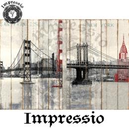 13799. Декупажная карта  Impressio, плотность 45 г/м2