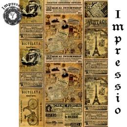 13808. Декупажная карта  Impressio, плотность 45 г/м2