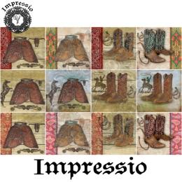 13812. Декупажная карта  Impressio, плотность 45 г/м2