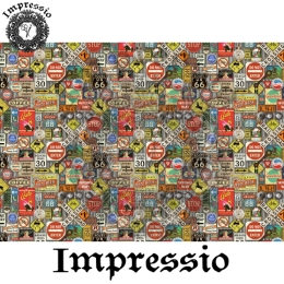 13816. Декупажная карта  Impressio, плотность 45 г/м2