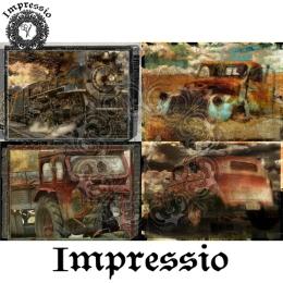 13819. Декупажная карта  Impressio, плотность 45 г/м2