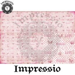13827. Декупажная карта  Impressio, плотность 45 г/м2