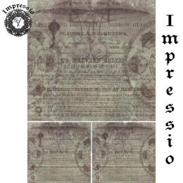 13842. Декупажная карта  Impressio, плотность 45 г/м2