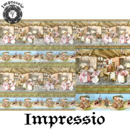13886. Декупажная карта  Impressio, плотность 45 г/м2