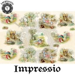 13889. Декупажная карта  Impressio, плотность 45 г/м2