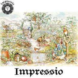 13891. Декупажная карта  Impressio, плотность 45 г/м2