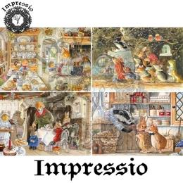 13896. Декупажная карта  Impressio, плотность 45 г/м2