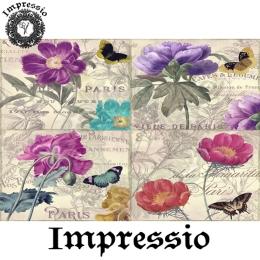 13952. Декупажная карта  Impressio, плотность 45 г/м2