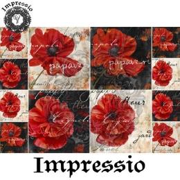 13955. Декупажная карта  Impressio, плотность 45 г/м2