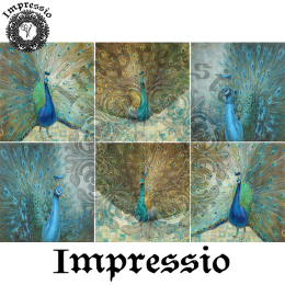 14063. Декупажная карта  Impressio, плотность 45 г/м2