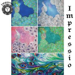 14074. Декупажная карта  Impressio, плотность 45 г/м2