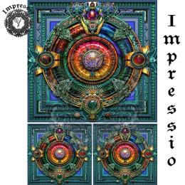 14077. Декупажная карта  Impressio, плотность 45 г/м2