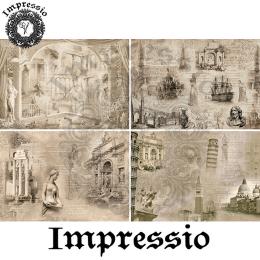 14103. Декупажная карта  Impressio, плотность 45 г/м2