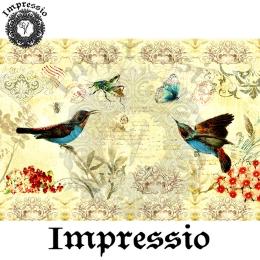 14125. Декупажная карта  Impressio, плотность 45 г/м2