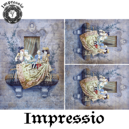 14127. Декупажная карта  Impressio, плотность 45 г/м2