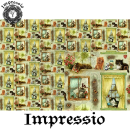 14157. Декупажная карта  Impressio, плотность 45 г/м2