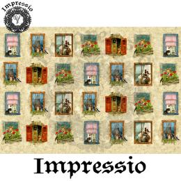 14159. Декупажная карта  Impressio, плотность 45 г/м2