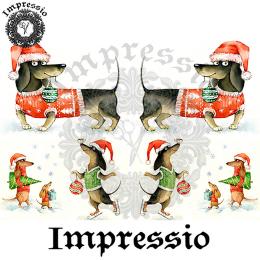 14272. Декупажная карта  Impressio, плотность 45 г/м2