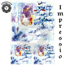 14329. Декупажная карта  Impressio, плотность 45 г/м2