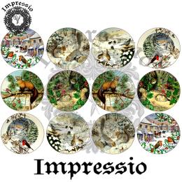 14333. Декупажная карта  Impressio, плотность 45 г/м2